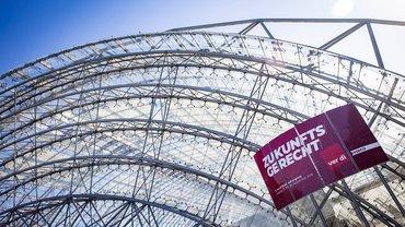 ver.di-Bundeskongress in der Leipziger Messe