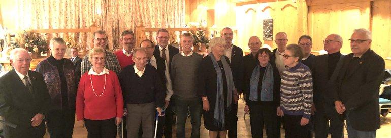 Jubilarehrung 2019 der ver.di-Senior*innen FB 9 und FB 10 Krefeld/Moers